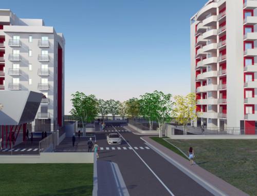 Attenzione per l'ambiente nel nuovo quartiere di Frosinone